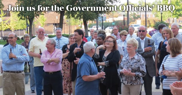 Help us thank our government officials for all that they do.