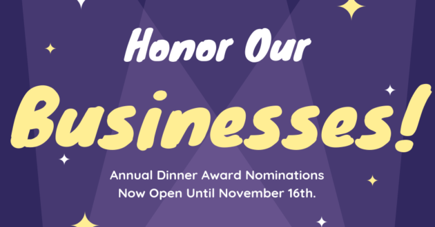 Submit Your Nominations Today!