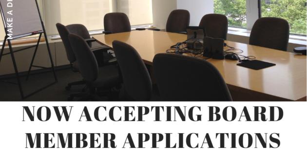 Applications Due October 31
