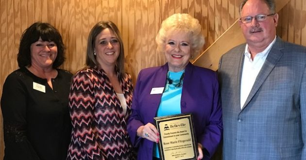 March Commitment to Community Award Goes to Rose Marie Fitzgerald