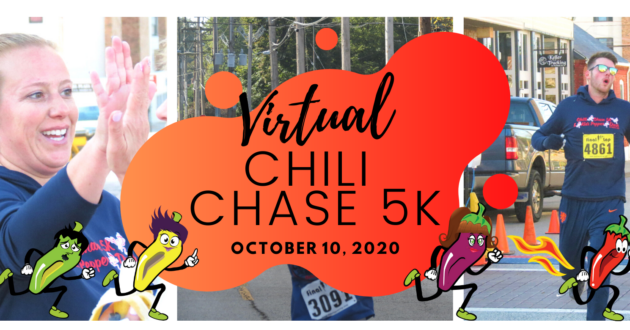 Join us for our annual Chili Chase 5K at home!